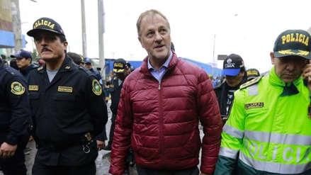Jorge Muñoz cuestionó a alcalde de Puente Piedra por liderar protestas en Panamericana Norte