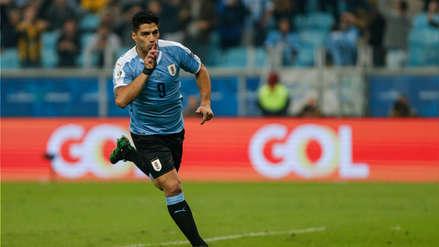 ¡Puso el empate! Luis Suárez marcó el primer gol de Uruguay en el partido ante Japón
