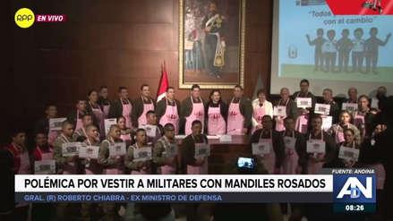 """Roberto Chiabra: """"No se necesita ponerle un mandil a un hombre para decir que va a respetar a la mujer"""""""