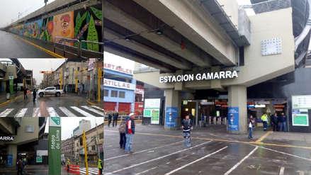Así luce la estación Gamarra del Metro de Lima tras intervención de la avenida Aviación