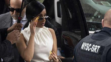 Cardi B fue acusada con 14 cargos por caso de agresión a dos meseras en club de estriptis