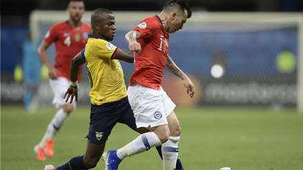 Chile clasificó a cuartos de final al superar 2-1 a Ecuador en la segunda jornada de la Copa América