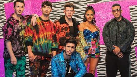 "Daddy Yankee, Natti Natasha, Sebastián Yatra y los Jonas Brothers estrenan ""Runaway"""