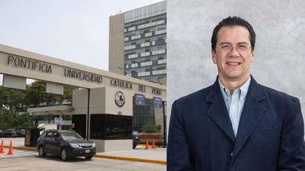 Carlos Garatea Grau fue elegido nuevo rector de la PUCP, según resultados extraoficiales