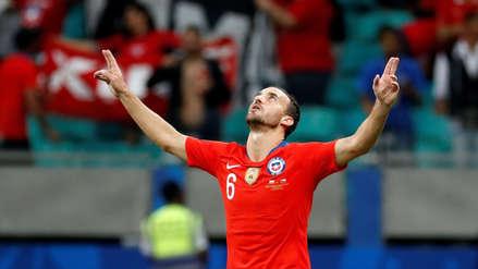 ¡A los 7 minutos! José Fuenzalida puso el primer tanto de Chile ante Ecuador por la Copa América