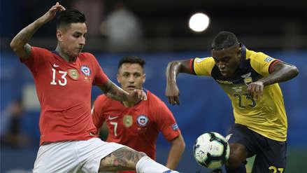 ¡Por poco! Erick Pulgar casi puso el tercer gol de Chile en el partido ante Ecuador