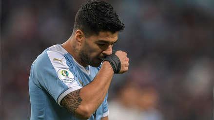 Dio tremendo susto: Luis Suárez fue trasladado a un hospital por un golpe en la mano