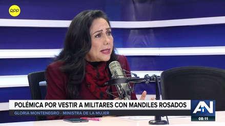 """Gloria Montenegro: """"El mandil rosado se lo han puesto policías, sacerdotes, alcaldes"""""""