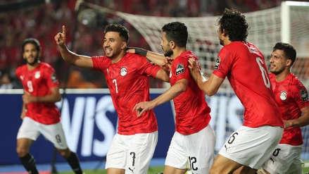 Egipto derrotó 1-0 a Zimbabue en la inauguración de la Copa África