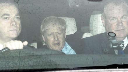La Policía acudió a la casa de Boris Johnson por un altercado con su pareja