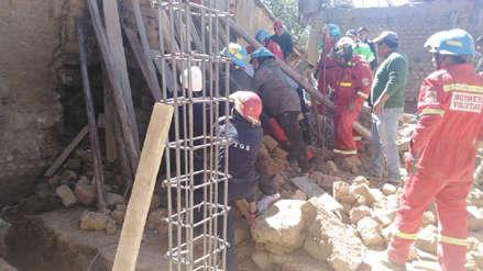 Junín: Un muerto y un herido tras desplomarse la pared de una vivienda en Concepción