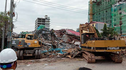 Al menos tres muertos y decenas de heridos tras derrumbe de un edificio en Camboya