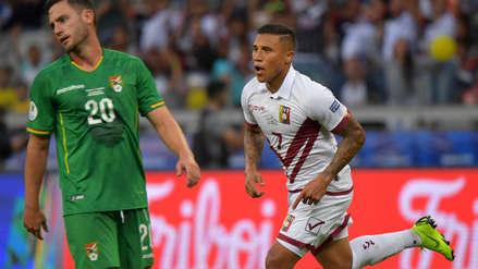 Venezuela ganó 3-1 a Bolivia y clasificó a los cuartos de final de la Copa América 2019