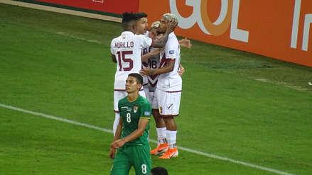 ¡Cabezazo! El gol de Josef Martínez con el que Venezuela clasificó a cuartos de final