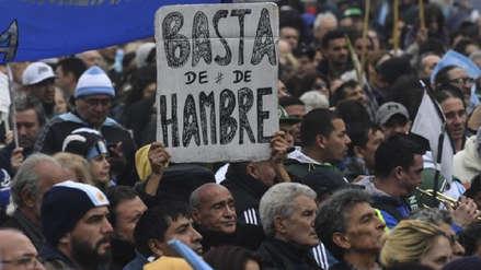 Recesión argentina sin final a la vista: El PIB cae 5,8% en primer trimestre