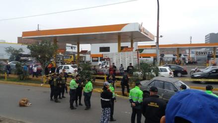 Un hombre murióatropellado en medio de una persecución y balacera en la avenida Túpac Amaru