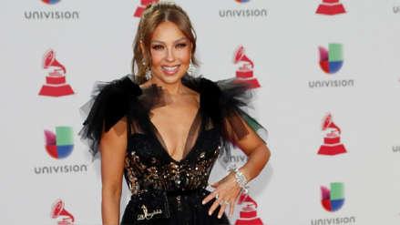 Thalía elogió la belleza de uno de los Avengers y esta fue la respuesta de su esposo