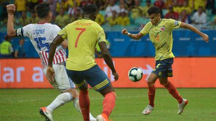 Colombia se impone con puntaje perfecto al vencer 1-0 a Paraguay en la Copa América