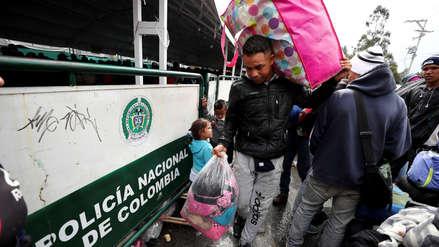 Al menos 1,000 ciudadanos venezolanos ingresaron a Colombia por amenaza de enfrentamientos