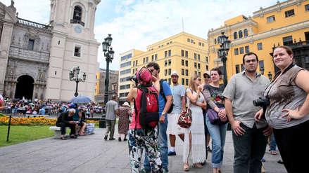 Llegada de turistas extranjeros al Perú crece 2,4% entre enero y mayo 2019
