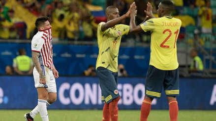 Colombia venció 1-0 a Paraguay y cerró la primera fase con puntaje perfecto