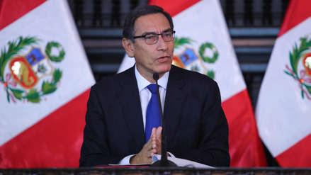 Martín Vizcarra sube ocho puntos en aprobación a su gestión, según encuesta de IEP