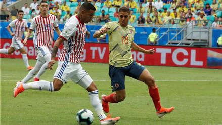 Colombia derrotó 1-0 a Paraguay y logró puntaje perfecto en la Copa América