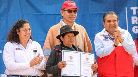 Día del Campesino: Gobierno entregó predios a 2,000 agricultores