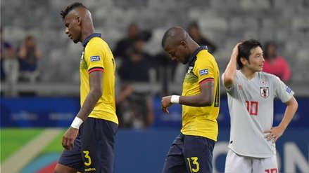 Ecuador quedó eliminado al empatar con Japón por el Grupo C de la Copa América