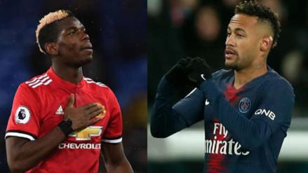 Neymar por Pogba | El PSG habría propuesto al Manchester United un intercambio entre ambas estrellas