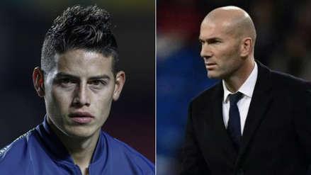 James Rodríguez envió un 'dardo' al Real Madrid y a Zinedine Zidane