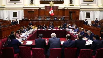 Comisión de Constitución aprobó causales de cancelación de movimientos regionales