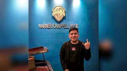 Artista ayacuchano de 'inka trap' Kayfex firmó contrato con Warner/Chappell Music