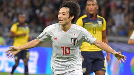 Gracias al VAR: Japón se puso en ventaja ante Ecuador con gol que inicialmente fue anulado