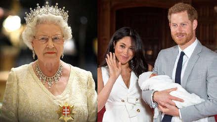 La razón por la que la reina Isabel II no estará en el bautizo del hijo de Meghan Markle y Harry