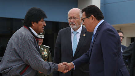 Evo Morales lamenta el fallecimiento del ministro José Huerta: