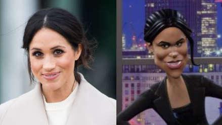 Acusan de racismo a la BBC por parodia de Meghan Markle