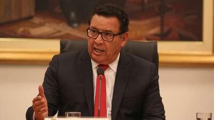 Congresistas lamentan la muerte del ministro de Defensa, José Huerta