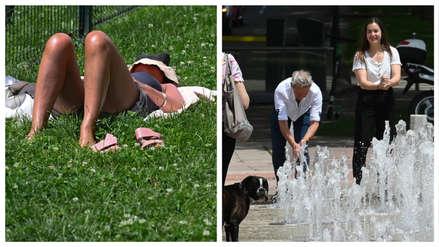 ¡Sofocados!: Así se vive en Europa la ola de calor que podría  superar los 40°C [FOTOS]