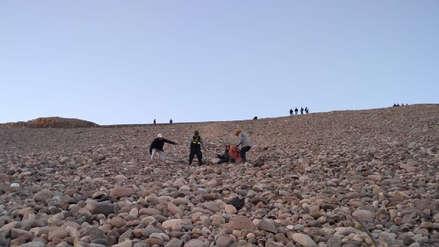 Arequipa | Cinco trabajadores del INPE se salvan de morir tras la caída de vehículo a un barranco de 500 metros