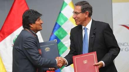 Perú y Bolivia suscriben 12 acuerdos y establecen 92 compromisos para afianzar integración