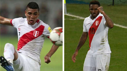 Paolo Hurtado y Jefferson Farfán figuran en el once de lesionados de la Copa América 2019