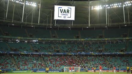 ¿Cuántas veces intervino el VAR en la fase de grupos de la Copa América?