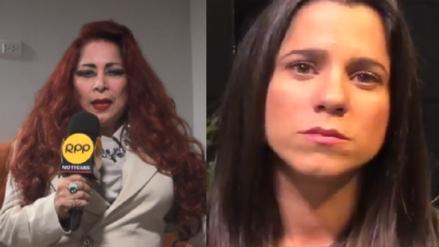 """Monique Pardo sobre denuncia de Vanessa Terkes a George Forsyth: """"Esto ha debido quedar en privado"""""""