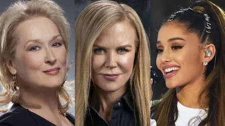 Meryl Streep, Nicole Kidman y Ariana Grande protagonizarán