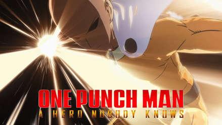 One Punch Man presenta el tráiler de su primer videojuego   Video