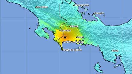 Un fuerte sismo de magnitud 6,7 sacudió Costa Rica y Panamá esta noche