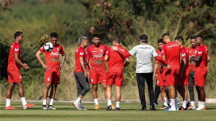 Perú vs. Uruguay: la bicolor entrenó por primera vez en Salvador de Bahía previo al partido