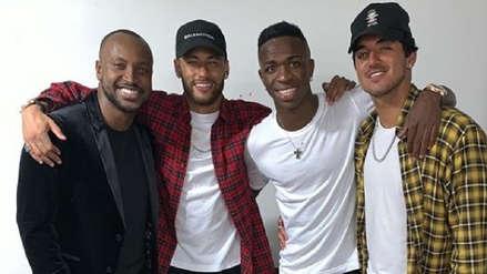 Neymar se divierte en la fiesta de cumpleaños de Vinicius Junior a la espera de su fichaje con Barcelona