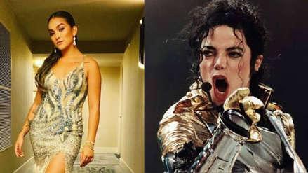 Daniela Darcourt recuerda a Michael Jackson y promete ser tan exitosa como el Rey del Pop